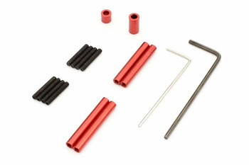 Kyosho Part Mini Z Aluminum Link Rod Set WB120mm #MXW002R
