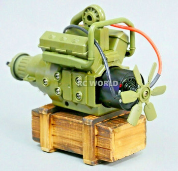 RC 1/10 Scale Military 540 ENGINE w/ Transmission