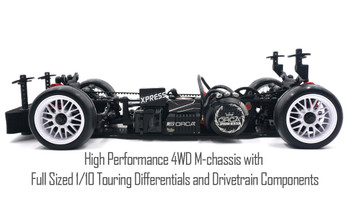1/10 RC Chassis MINI  4wd -KIT-