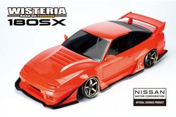 Reve D 1/10 RC Car Body NISSAN 180sx Wisteria Wide Body DB-180SXW