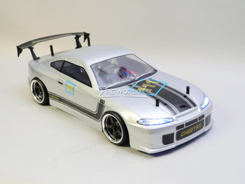 RC 1/10 Drift Nissan Skyline S15 Drift Car RTR W/ LED