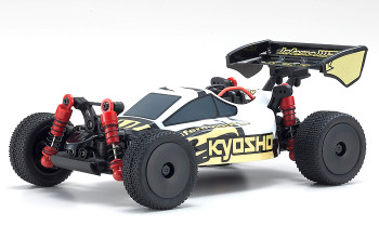 Kyosho RC Mini Z BUGGY Optima Mid Turbo 4WD -RTR- WHITE 32091WBK