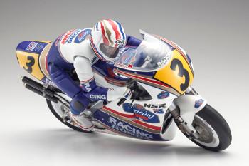 Kyosho RC BIKE NSR500 Motorcycle 1991 HOR Hang On Rider - KIT - 34932B