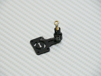 Axial SCX24 Metal REAR SPARE TIRE Holder Carrier BLACK