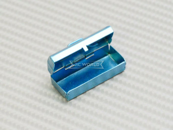 1/10 Scale Accessories Metal TOOL BOX w/ TOOLS -BLUE-