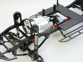 RC Truck CHASSIS LWB 2-Speed 314mm Wheel Base Rolling Chassis