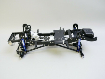RC Defender 90 TRUCK CHASSIS 280mm Wheel Base Rolling Chassis All METAL