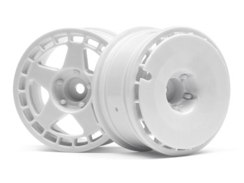 HPI Racing 1/10 Fifteen52 TURBOMAC Wheels WHITE (26MM/2PCS) #114637