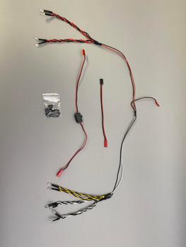 1/7 Corvette LED LIGHT Kit For Body Shell