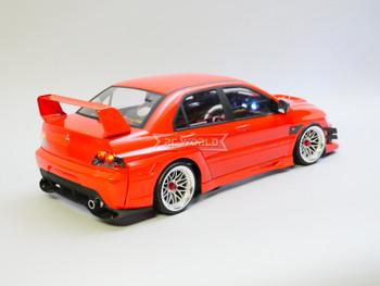 RC 1/10 Mitsubishi EVO Voltex Evolution Brushless RTR W/ LED /Sound -RED-