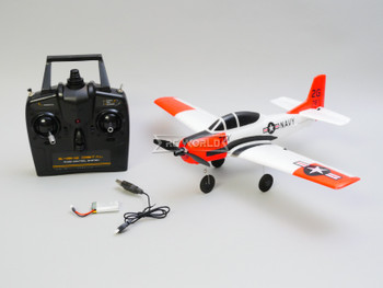 rc micro electric airplane trojan T-28