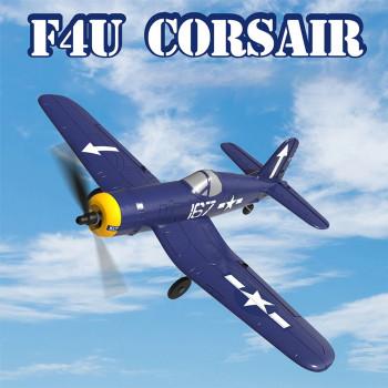 RC Airplane F4U Corsair Micro 4 Channel Electric Plane W/ Gyro RTF