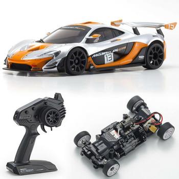 Kyosho RC Mini Z McLaren P1 GTR Silver/Orange RWD  -RTR-