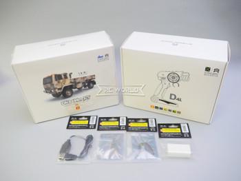 Orlandoo RC 1/32 Micro MILITARY TRUCK 4X4 Rock Crawler Truck -KIT- FULL OPTION