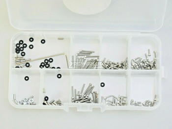 For 1/24 Axial SCX24 Stainless Steel SCREW HARDWARE Set (120) pcs
