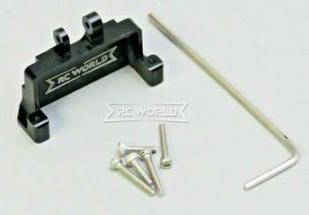For 1/24 Axial SCX24 Upgrade METAL Front SERVO MOUNT Axle Bracket BLACK