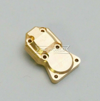 For Axial SCX24 1/24 Metal BRASS DIFF COVER + Plate Weighted V1 (1pcs)