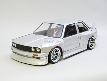 RC 1/10 BMW E30 Wide Body Brushless RTR W/ LED -SILVER-