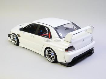 RC 1/10 Mitsubishi EVO Voltex Evolution Brushless RTR W/ LED /Sound -WHITE-