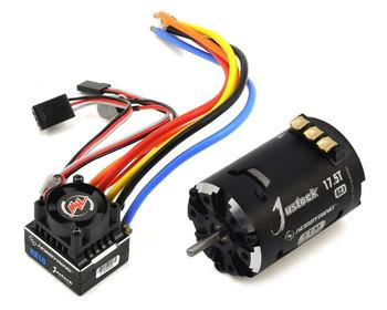 Hobby Wing XR10 Justock ESC + Brushless Motor COMBO  Black G2.1