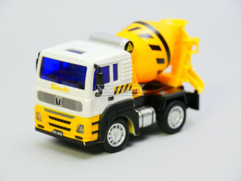 RC Micro 1/64 CEMENT TRUCK Micro RC Construction