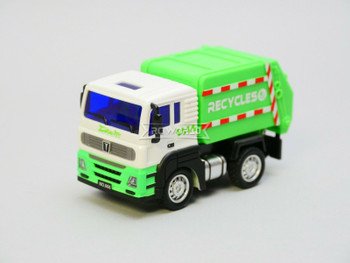 RC Micro 1/64 RECYCLE TRUCK Micro RC Garbage