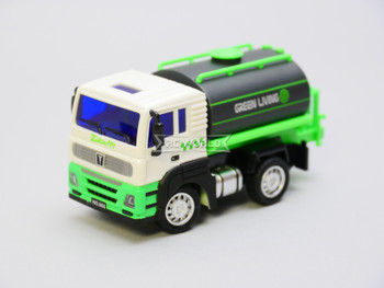 RC Micro 1/64 LIQUID TRUCK Micro RC Green Truck