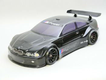 1/10 RC BMW E46 M3 RC Car BODY Shell 200 mm *Painted* Black