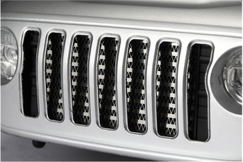 1/10 Axial SCX10 Jeep III GRILL Metal Front METAL GRILL