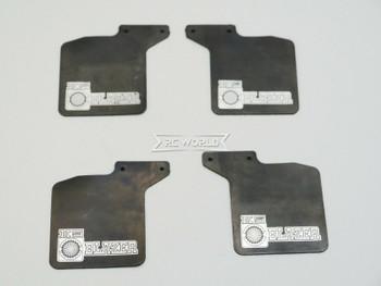 Traxxas TRX-4 CHEVY K5 Blazer MUD FLAPS Front + Rear w/ Bracket (4)pcs