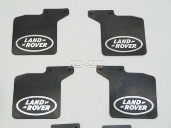 Traxxas TRX-4 Land Rover Defender MUD FLAPS Front + Rear w/ Bracket (8)pcs