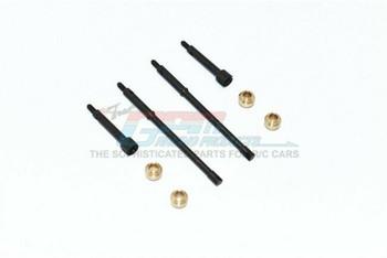 Axial SCX24 Deadbolt Hard STEEL Front + Rear CVD JOINT & REAR Drive Shaft