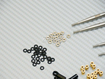 Axial SCX24 Honcho Upgrade Metal TRAILING Arms Links