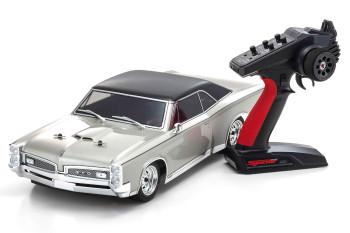 Kyosho Fazer RC Car 1967 Pontiac GTO 4wd SILVER -RTR-