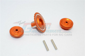 GPM Aluminum Gears For HOR RC Bike 52T 53T 55T (3PCS) -ORANGE-