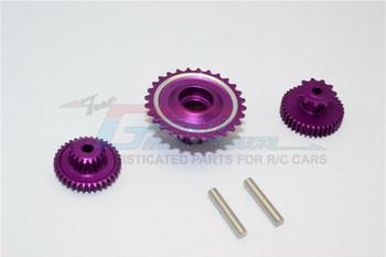 GPM Aluminum Gears For HOR RC Bike 52T 53T 55T (3PCS) -PURPLE-