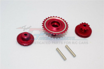 GPM Aluminum Gears For HOR RC Bike 52T 53T 55T (3PCS) -RED-