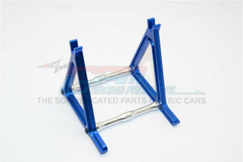 GPM Rear Wheel Stand For HOR RC Bike Aluminum #KM888  -BLUE-