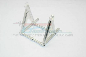 GPM Rear Wheel Stand For HOR RC Bike Aluminum #KM888  -SILVER-