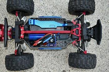 GPM Traxxas Hoss Stablizer Brace Bars Metal Upgrade #HS049FR25 -BLUE-