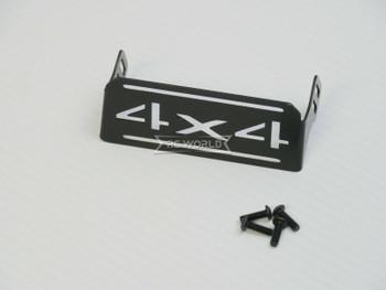 For Traxxas TRX-4 SERVO GUARD COVER Aluminum 4X4 BLACK