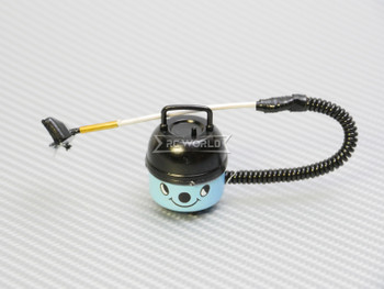RC 1/10 Scale Accessories VACUUM CLEANER -BLUE-