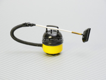 RC 1/10 Scale Accessories VACUUM CLEANER -YELLOW-