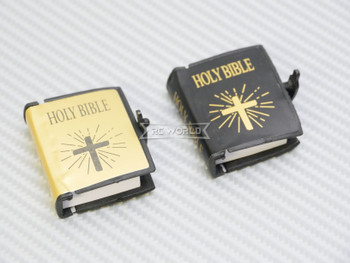 RC 1/10 Scale Accessories HOLY BIBLE (1) Black w/ Cover
