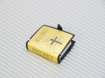 RC 1/10 Scale Accessories HOLY BIBLE (1) Gold w/ Cover