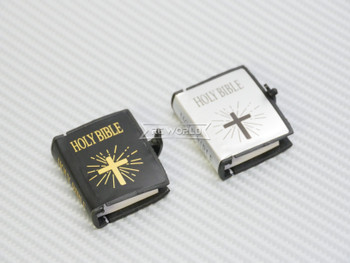 RC 1/10 Scale Accessories HOLY BIBLE (1) Silver w/ Cover