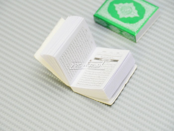 RC 1/10 Scale Accessories HOLY BIBLE (1) GREEN Hard Cover