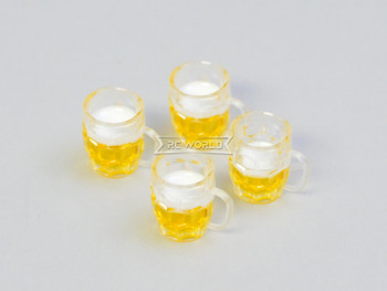RC 1/10 Scale Accessories BEER GLASS (2)