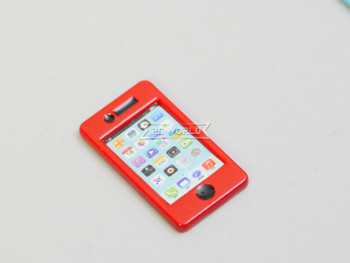 RC 1/10 Scale Accessories Apple IPHONE (1)  RED