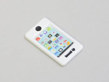 RC 1/10 Scale Accessories Apple IPHONE (1)  WHITE